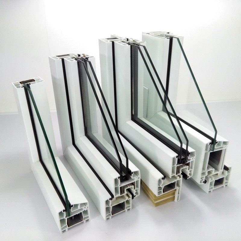 upvc casement window profile - 60#