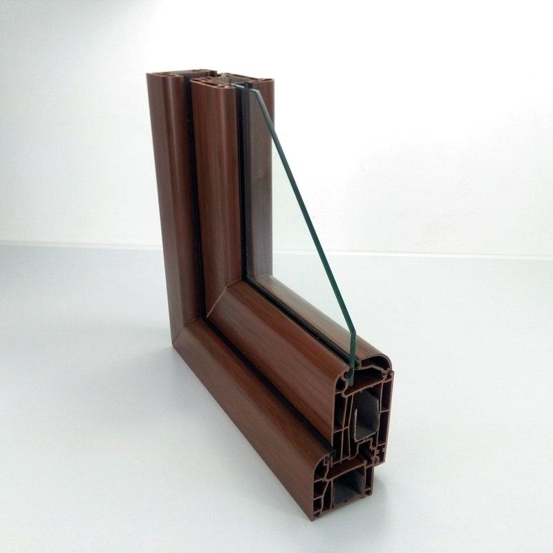 Upvc Casement Window Profile - 62# Thicken Serise