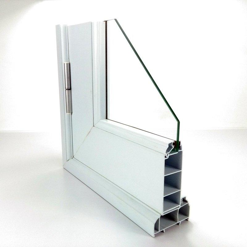 Plastic door profile -35# swing type