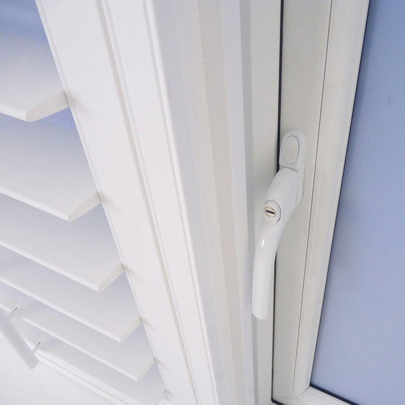 UPVC Shutter Window Profiles - Pvc Plantation Profiles
