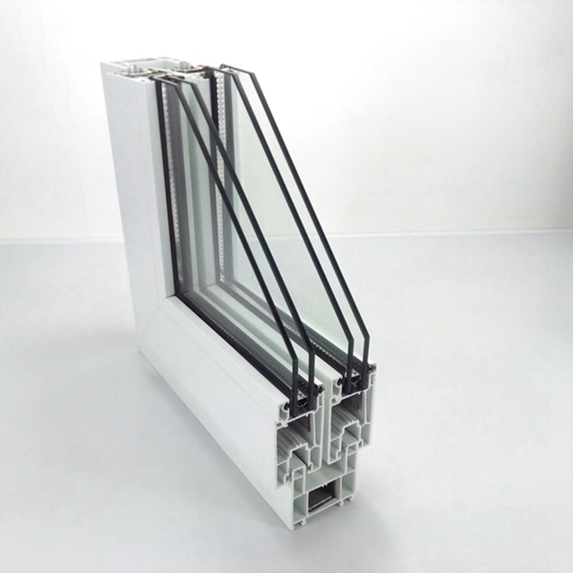 co extrusion color window   section plastic upvc