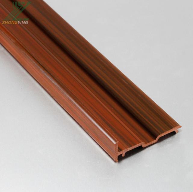 Plastic extrusion  custom PVC plastic  for window