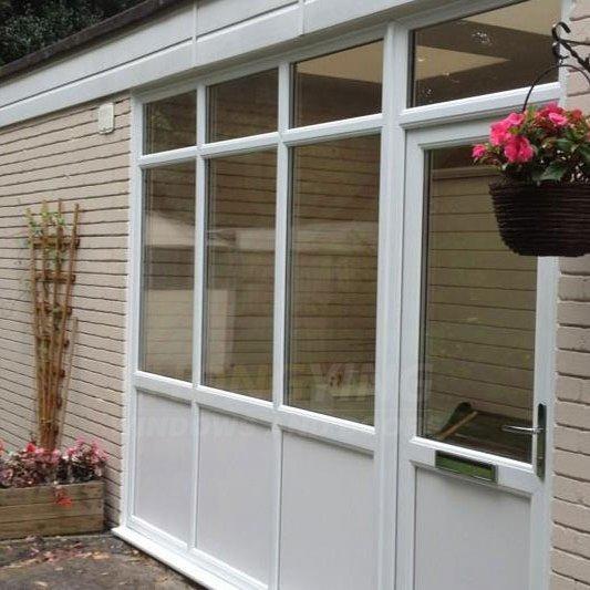 Upvc panel door - interior pvc door